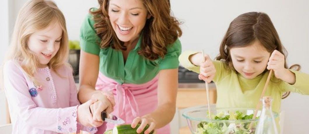 Top cele mai prietenoase legume si fructe pentru copii