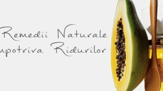 8 Remedii Naturale Impotriva Ridurilor