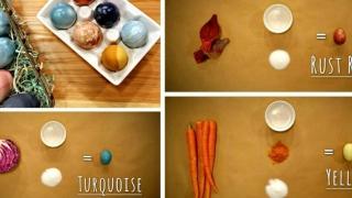 Cum sa vopsesti natural ouale de Paste (DIY)