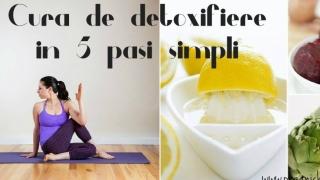 Cura de detoxifiere in 5 pasi simpli