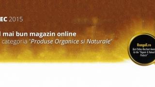 GPeC 2015: Rangali.ro, cel mai bun magazin online din categoria Produse Organice si Naturale