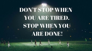 Un sportiv determinat nu renunta niciodata! (Cum sa te impingi de la spate si sa te auto-motivezi pentru a-ti intari performanta sportiva)