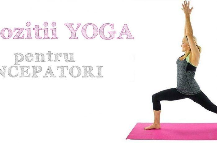 5 Pozitii yoga pentru incepatori