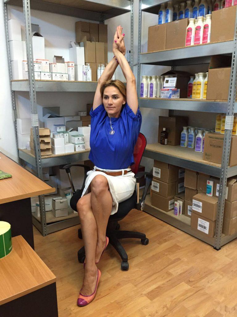 pozitii yoga la birou 5
